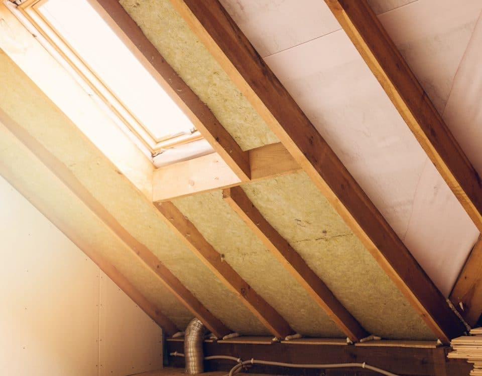 Attic Inside of a Home